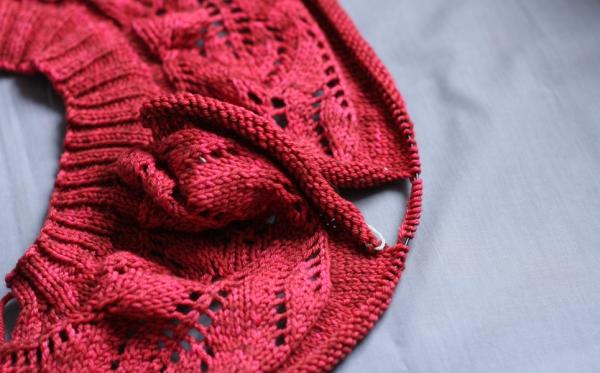 Lush Cardigan in Rainbow Heirloom Sweater