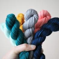 Choosing colours...