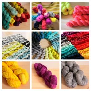 Kits, custom orders, bundles and mini skeins!